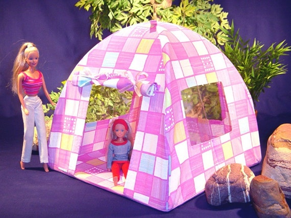 Doll Tent And Sleeping Bag For Barbie Bratz My Little Pony