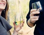 Lavender Stemless Wine Glasses-Set of 2