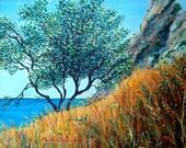 Scopello Sicily Original Oil Painting