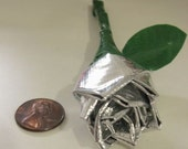 Set of Six Mini Duct Tape Roses- You choose colors