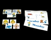 CHORE CHART SET - Bob the Builder - Change Sup Sets to Keep Chores Interesting