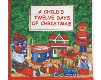 CLOTH / SOFT BOOK - The 12 Days of Christmas