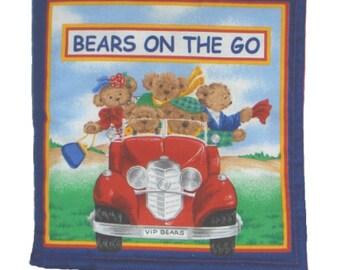 CLOTH / SOFT BOOK - Bears on the Go
