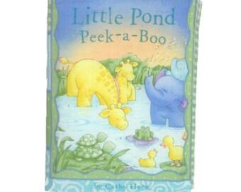 SOFT / CLOTH BOOK - Little Pond Animals
