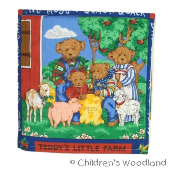 CLOTH / SOFT BOOK - Teddy's Little Farm