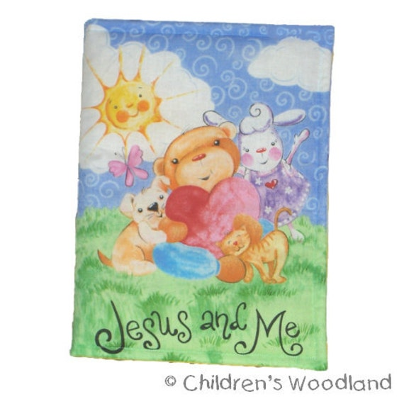 CLOTH / SOFT BOOK - Jesus and Me