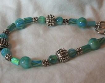 Turquoise/Green Bracelet