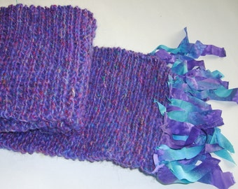 Purple Confetti Scarf