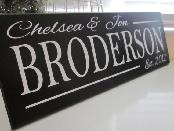 Items Similar To Custom Wood Sign Personalized Family