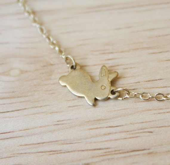 The Baby Lone Hopper Necklace