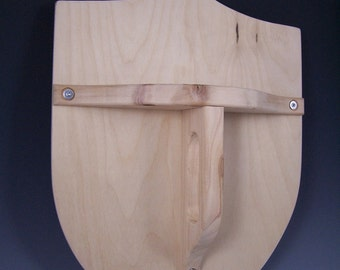 One Shield and One Leather Sheath with Strap