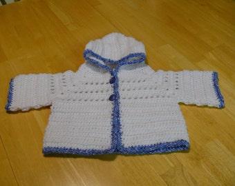 Crochet Baby Hoodie
