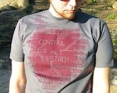 Binary Code Geek Tshirt - Engineer Shirt, Computer Programming Gift - Control-Alt-Destroy T-shirt