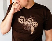 Logic Trap Men's Tshirt - Steampunk Shirt, Engineer Shirt - Gifts for Men