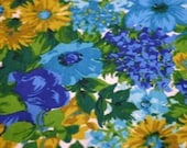 Pretty Floral Vintage Fabric