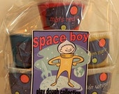 Homemade Play Dough Kit - Space Boy - basic