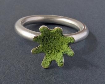 Kiwi Flower Ring