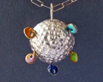 Radar Orb Necklace