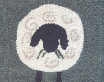 Rug Hooking Kit - Solo Sheep