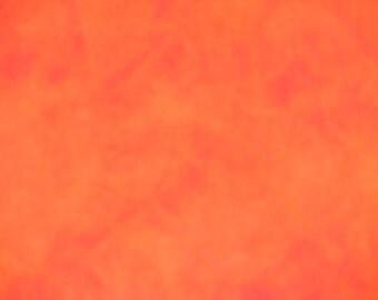 "Hand-dyed Wool Fabric - ""Sunrise"""