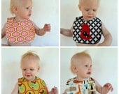 Set of 8 Baby Boy Baby Girl Bibs -You choose