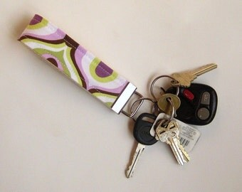 Proud Eye Purple Key Fob