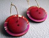 Bosque Rojo - Earrings