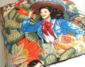Spicy pinup pillow