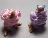 Chocobo Chicks, pink and purple