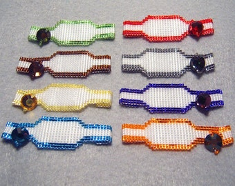 Double-Sided Call Bracelet (T&B), Made to Order
