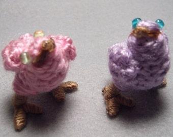 Chocobo Chicks, pink and purple