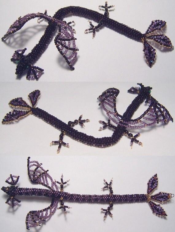 Maleficent-themed dragon bracelet