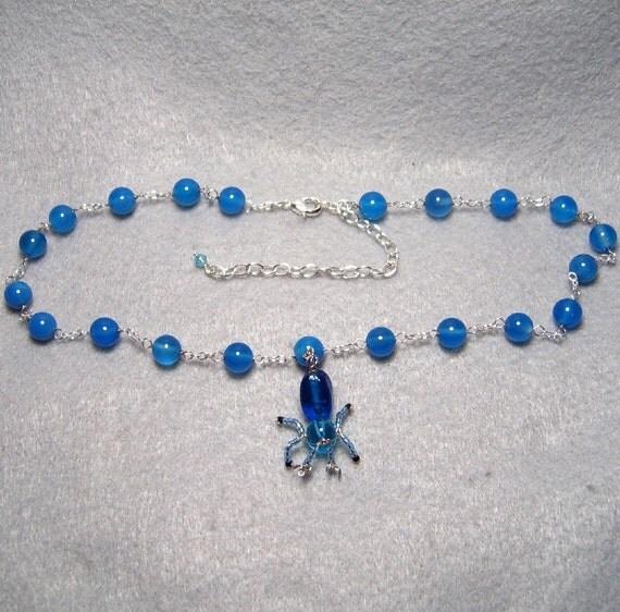 Dangly Tachikoma Necklace