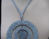 Glitter Orbit Necklace