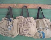 Upcycled Coffee Sac Tote Bag