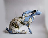 RESERVED for Alex    Mother Hare Caring               Soft Sculpture
