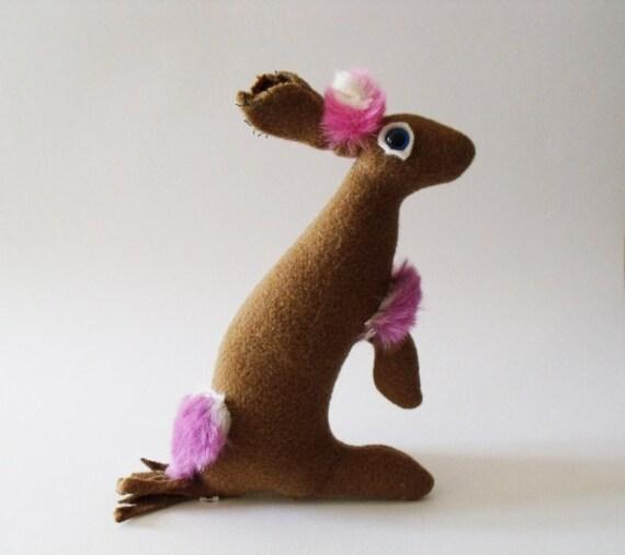 Baby Hare Apraksina          Soft Sculpture