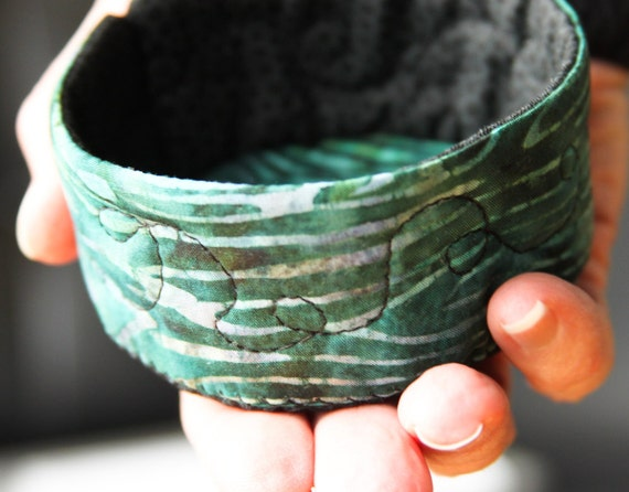 jewelry catcher bowl - small - icy woods