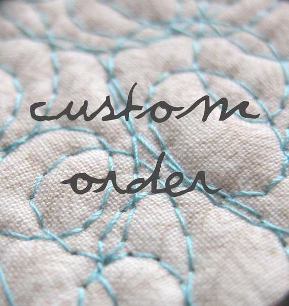 Custom Quilt Order - For Tina Enck - 2 of 4 payments