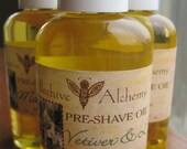 VETIVER & LIME Pre-shave Oil - 4 oz