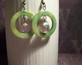 Verde Moon Earrings