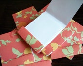 10 Matchbook Notepads - Floral Two