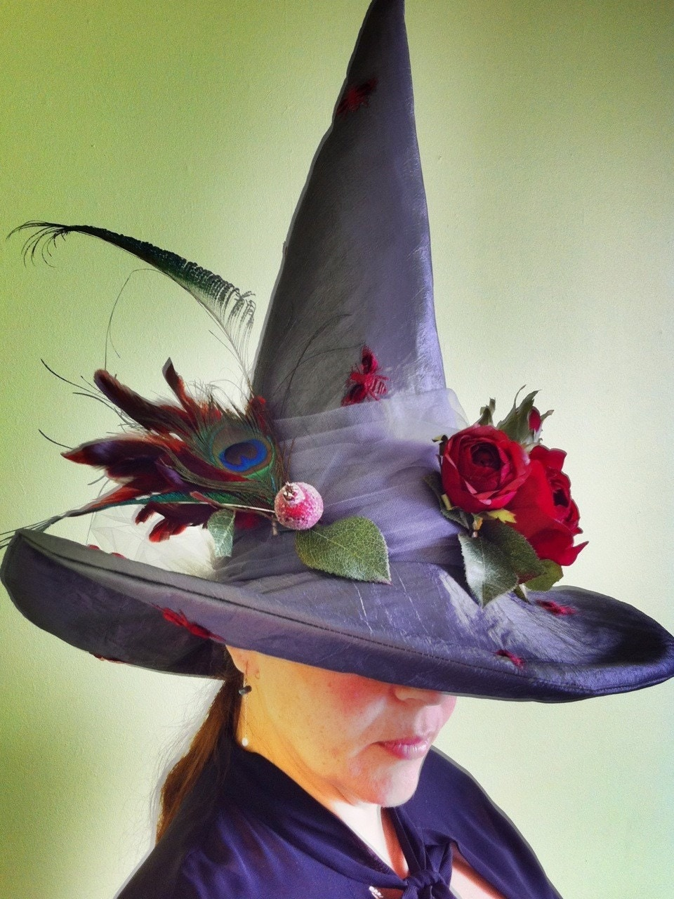 dance with persephone witch hat unique millinery art