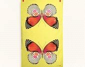88 butterfly tea towel