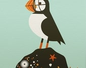 puffin limited edition print