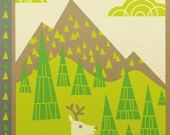 white deer bee land notebook