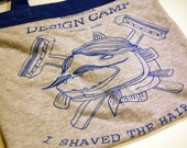 SALE- Upcycled Design Camp Tshirt Purse