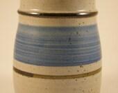 White glazed medium storage jar 2