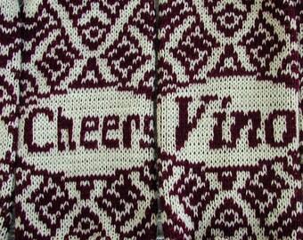 Knit Wine Cozy