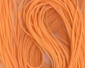 2mm Orange Sherbet Tubing